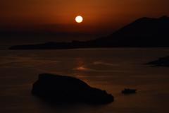 Magic (Kotsikonas Elias) Tags: sunset water sea ayhens greece nikon d3300 sun yacht yachting boat