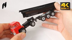 How to Build the Truck with Tipper (Updated Version - 4K) (hajdekr) Tags: moc lego toy vehicle automobile truck tractor small easy technic wheels myowncreation 4k ultrahighdefinition uhd tipper truckwithtipper update updated new simple car trailer howto manual tuto tutorial tip tips stepbystep assemblyinstruction instruction guide buildingblocks buildingguide help
