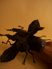 Cyclommatus Metallifer (Marcos Origami) Tags: bugs origami insects beetle