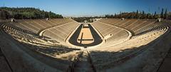 Panathenaic Stadium Pano darken (joe shot) Tags: athen ateny olympus omd em 10 greece architecture stadium panathenaic
