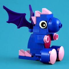 Cuddly Toys: Flying Dragon (Swan Dutchman) Tags: lego toy cuddlytoy stuffedtoy plushtoy plushies snuggies stuffies snuggledanimals stuffedanimals softtoys knuffel knuffelbeest knuffeldier dragon draak
