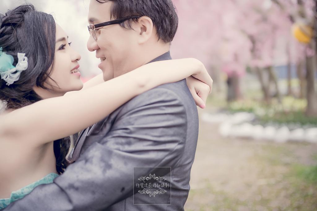 恩愛農場拍櫻花,櫻花婚紗,拍櫻花景點,中和視覺流感,3月櫻花季