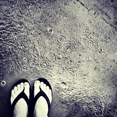 Wet feet. (Julie K3) Tags: square tears squareformat grief wetfeet iphoneography instagramapp xproii uploaded:by=instagram missmyson kosterjul cryingriversoftears