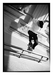 skate day (Dave Rogers Photography) Tags: street blackandwhite film vancouver canon vintage kodak trix skatepark skate skateboard vans skater brixton thrasher filmsnotdead vancouverskateboarding