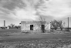 San Jon, New Mexico. 3.22.13. (Nothing Signified) Tags: blackandwhite newmexico monochrome route66 motel roadtrip ghosttown americana pentaxkx abandonedplaces sanjon vintagemotel vintagemotelsign vintagemotelsigns route66americana abandonedroute66 abandonedamerica newmexicoabandoned sanjonnewmexico abandonednewmexico route66abandoned abandonedonroute66 route66america danwatsonphotography nothingsignified