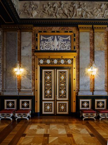 Christiansborg Palace - Doors in Alexander Hall