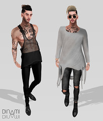 How Deep Is Your Love? (Levi Megadon // *OMG*) Tags: new male men classic look leather fashion shirt tattoo hair beard pumpkin mom skinny glasses blog sweater clothing shoes mesh boots zoom action body ripped hipster formal shades wear sl jeans event secondlife mens tanktop denim sorgo trend hip cuff dope uc facial loose stylish sheer seul tmp baggy lotd bolson cuffed fitted brogues spiritstore kustom9 unorthodoxx beusame clavv menonlymonthly