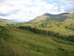 View across A82 to Ben More
