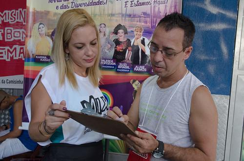 AHF Brasil @ Parada Gay Madureira