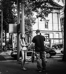 Distractions (TMimages PDX) Tags: street city people urban portland geotagged photography photo image streetphotography explore photograph fineartphotography flickrexplore explored iphoneography