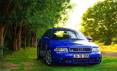 Audi S4 B5 Quattro (Fatih Doğan) Tags: blue station turkey low istanbul b5 audi ankara s4 rs4 stance quattro rs6 biturbo lownslow stanced stanceworks canibeat stancenation