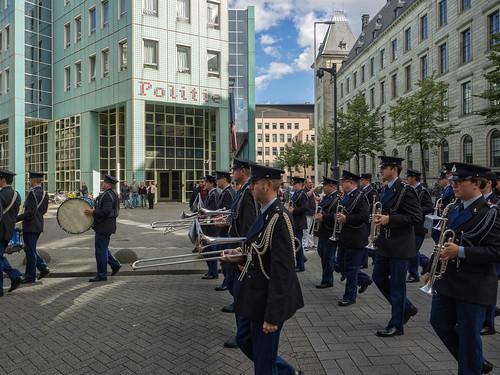Trompetterkorps der Koninklijke Marechaussee - Doelwater/Doelstraat - Rotterdam