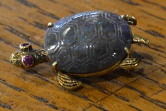 "BLACK OPAL TURTLE PIN • <a style=""font-size:0.8em;"" href=""http://www.flickr.com/photos/51721355@N02/21684419939/"" target=""_blank"">View on Flickr</a>"