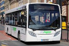 PX12 COJ (Cumberland Patriot) Tags: city bridge bus buses 200 cumbria end belle alexander dennis 75 carlisle vue hopper coaches dalston enviro 68 adl wigton of upperby reays px12coj