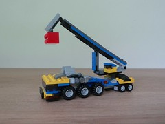 LEGO 31033 LEGO CREATOR 3 IN 1 2015 Vehicle Transporter Mobile Crane (2/3) (Totobricks) Tags: lego howto instructions creator build 3in1 2015 mobilecrane vehicletransporter totobricks lego31033