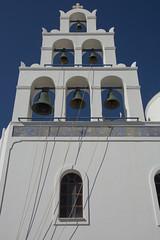 Church Bells (hippyczich) Tags: church bells santorini oia