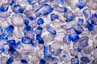 Persian Blue Salt Crystals