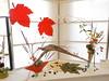 Bittersweet, Calla Lillies, Dianthus & Cat Tails by Pat Kindelan of the Ikenobo & Koryu Schools (nano.maus) Tags: festival japan japaneseflowerarrangement japaneseambiencefestival