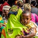 People at the marketplace of the Stone Town - Zanzibar