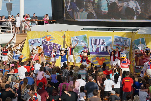 """Disney Fantasy Sail Away Party • <a style=""""font-size:0.8em;"""" href=""""http://www.flickr.com/photos/28558260@N04/22381835618/"""" target=""""_blank"""">View on Flickr</a>"""