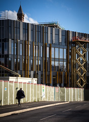 UoB New Library Facade 28th October 2015 (timcornbill) Tags: architecture architect carillion arb riba uob universityofbirmingham associatedarchitects inasus