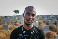 """I love my country. That's why I took on this job"" - Alfred Kelfala, Ebola burial team member, Sierra Leone"