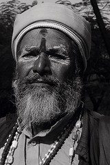 The  Naga Sadhu on Hill Road (firoze shakir photographerno1) Tags: sadhu naga