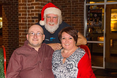 Posing with Santa (The Suss-Man (Mike)) Tags: santa christmas me georgia heather christmaslights christmasdecorations wife santaclaus dahlonega lumpkincounty thesussman sonyslta77 sussmanimaging