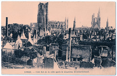 Ypres After Second Bombardment (pepandtim) Tags: postcard old early nostalgia nostalgic ypres second bombardment bombardement 34ypr32
