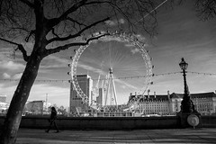 ... (instagram.com/the_big_smoke_/) Tags: britain bw blackandwhite central city centre london eye thames river robmchale mono monochrome people peoplewatching candid composition capture contrast compo comp architecture silhouettes trees buildings viewpoint view england urban uk urbanstreets