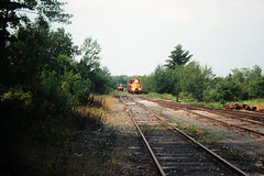 Busy Times (view2share) Tags: august221992 august1992 august 1992 wc wisconsincentral wisconsincentralltd lanse lansesub sdl39 emd electromotivedivision diesel railroad rr railway railroading railroads rail rails railroaders rring upperpeninsula uppermichigan northernmichigan northwoods northwood michigan mi baragacounty trains track train transportation tracks transport trackage trees travel freighttrain freight freightcars freightcar eastbound lansehill summer engine wc586 deansauvola