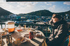 Lamma (]vincent[) Tags: hk hong kong lamma china vincent girl sun set dusk pier harbour boat sea blue sky colorful lunch amazing german sony rx 100 mk iv self map green mountain hiking view top cloud orange magical hour golden