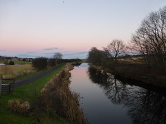 Forth & Clyde Canal at Haggs (luckypenguin) Tags: scotland falkirk forth clyde canal sunset