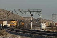 El Centro/ West Colton leaving Garnet, Ca. (Travis Berryman) Tags: unionpacific beaumonthill uprr upyumasub desertrailroading