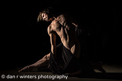 In Stone (DanRWin [ista:danrwin]) Tags: waist naked fineartphotography canon60d dance monolight arms boy man stomach studio nude pecs hips lighting art body balance skin ohio manline bodyscape bellybutton fineart dancer photography color abs male pelvis hip fabric hair