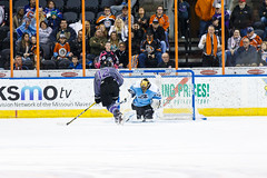 "Missouri Mavericks vs. Alaska Aces, December 16, 2016, Silverstein Eye Centers Arena, Independence, Missouri.  Photo: John Howe / Howe Creative Photography • <a style=""font-size:0.8em;"" href=""http://www.flickr.com/photos/134016632@N02/31717051526/"" target=""_blank"">View on Flickr</a>"