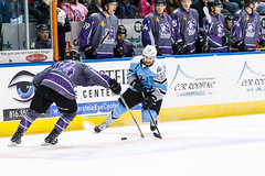 "Missouri Mavericks vs. Alaska Aces, December 16, 2016, Silverstein Eye Centers Arena, Independence, Missouri.  Photo: John Howe / Howe Creative Photography • <a style=""font-size:0.8em;"" href=""http://www.flickr.com/photos/134016632@N02/31717052296/"" target=""_blank"">View on Flickr</a>"