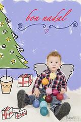 Bon Nadal, Feliz navidad & Merry Christmas (Rubén Gil) Tags: feliznavidad merrychristmas bonnadal deseos felicidad happinest felicitacion rubengilphotography retrato retrat portrait portraits posando