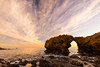 One fine day (hy931) Tags: seascape seashore coronadelmar sunset cloud skyview