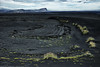 Black sand (marko.erman) Tags: vatnajökull isolated beach solitude grass green sony landscape panoram iceland islande glacier sand blacksand black