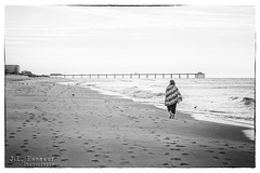 A Walk on the Beach (Vintage B&W) (J.L. Ramsaur Photography) Tags: jlrphotography nikond5000 nikon d5000 photography photo 2015 engineerswithcameras photographyforgod thesouth southernphotography screamofthephotographer ibeauty jlramsaurphotography photograph pic tennesseephotographer ftwaltonfl florida emeraldcoast beach ocean gulfofmexico sand waves vintagebw floridapanhandle awalkonthebeach ftwalton gulfislandsnationalseashore ftwaltonbeachpier ftwaltonbeach ftwaltonbeachfl bw blackwhite blackandwhite nik niksilverefexpro2 silverefex nikcollection landscape southernlandscape nature outdoors god'sartwork nature'spaintbrush wife morningwalk beachwalk morningbeachwalk vacation pier beachpier