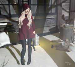 ~277~ Silence In The Snow (αиα ¢αραℓιиι) Tags: secondlife fashion belleza lelutka bento glamaffair theepiphany besom ikon rirlifedesign justbecause arte cosmeticfair kirinposes theseasonsstory