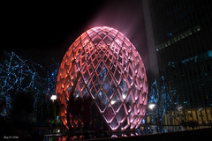 Magnificent Illuminations (RoySutherland235) Tags: winterlights canarywharf london lights colour