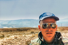 Patrolling the perimeter II (Normann Photography) Tags: 1992 fntjeneste forsvaret kontigent29 lebanon libanon peacecorps unservice unifil unitednations unitednationsinterimforceinlebanon xxix contigent29 contigentxxix market peacekeepers