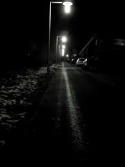Experiments in b&w - Night Illuminated Transportation Car Lighting Equipment No People The Way Forward Outdoors (markjowen66) Tags: night illuminated transportation car lightingequipment nopeople thewayforward outdoors
