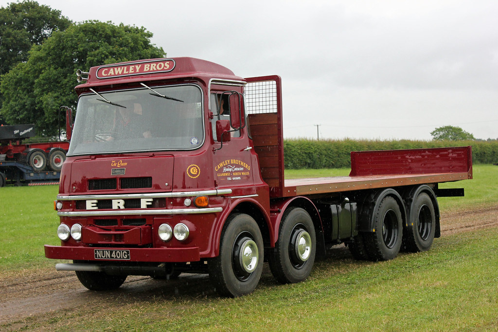 Vintage Work Trucks >> The World's Best Photos of erf and truck - Flickr Hive Mind