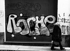(Gi_shi) Tags: nikon iamnikon nikonitalia d7200 bn bnw bw biancoenero street photography graffiti