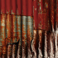 (jtr27) Tags: sdq0797fr2e jtr27 sigma sd quattro foveon 30mm f14 dc hsm art metal siding ice square abstract maine newengland red corrugated corrugation rust oxidation corrosion