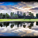 Ankor Wat Lake View Impression