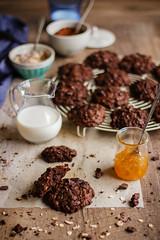 IMG_9004_exp (Helena / Rico sin Azúcar) Tags: chocolate cookie galleta muesli butter mantequilla vanilla vainilla bran oats cereales cacao cocoa dessert food comida postre
